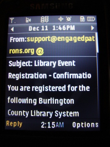 Library Text Message Notification Hack Agnostic Maybe