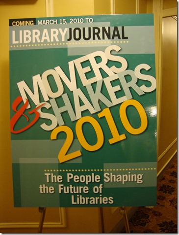 Movers & Shakers sign
